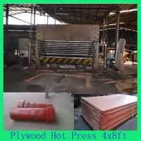 Block Board Hot Press Machine With Customized Sizes