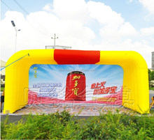 8m Inflatable advertising trade show arch tent