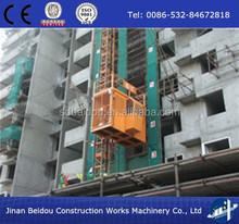 supply SC200/200 2ton double cage construction passenger hoist/electric building lifting hoist