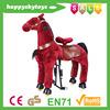 Happy Island CE walking horse toy,mechanical animal rides,ride on horse toy pony
