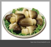 cheap price peeled straw mushroom in jar 330ml