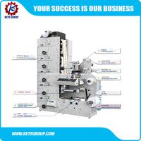 High Speed Auto Rotary Label Printing Machine