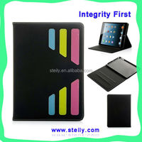 TOP Quality Modern Stylish Style Dormancy PU Leather Stand For iPad 5 Case, Leather Case For iPad 5, Case For iPad 5