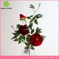 wholesales artificial preserved peony for flower arragement