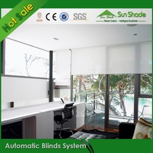 Custom made Automatic Blinds System for office blinds