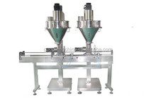 Two Heads Auger Filler,Powder Filler,Auger Filling Machine