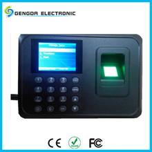 Biometric Office Employee Fingerprint+Password Time Attendance Machine