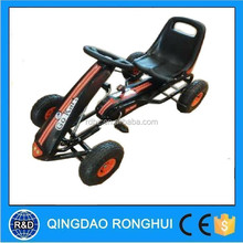 2015 popular pedal single seat go kart kids go kart steering wheel mini jeep for sale