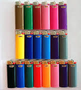 5 solid colors Disposable lighter , bic lighter , gas flint lighter