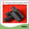 Hexagonal hardwood charcoal for bbq