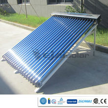 INMETRO certificate 2015 New project solar collector with manifold/frame/and solar vacuum tube