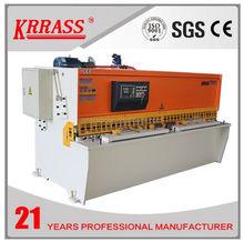 KRRASS QC12Y 8x2500 manual hydraulic sheet metal cutting and bending machine