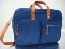 High quality designed Canvas laptop bag / canvas laptop bag / messenger bag