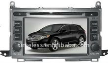 Special car dvd player for TOYOTA VENZA with GPS Radio TV Ipod In