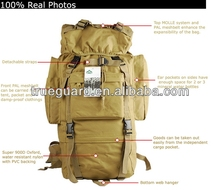 Hot selling hot army laptop backpack hiking