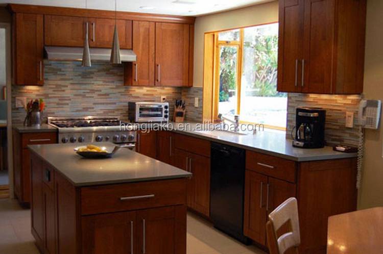Modern Solid Wood Kitchen Cabinet Buy Wholesale Direct From China