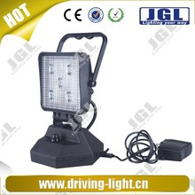 2015 new rechargeable auto led trouble light offroad , 4x4 15w led work light lamp