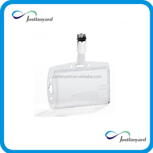 Promotional hot sale clear vinyl Card Holder