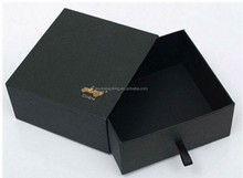High Quality Cardboard Matte Gift Black Box
