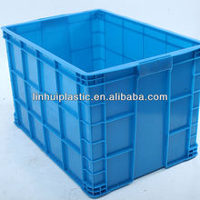 Large industrial solid plastic crate for sales