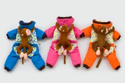 fashion pet winter coat dog apparel pet product monkey decorate clothes for dog