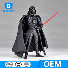 China factory, OEM Star wars action figure for collection, posebale Darth Vader pvc figure