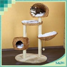 SD manufacture natural wholesale cat furniture pet tree cat tree