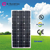 China portable 80w solar panel small for dc lamp