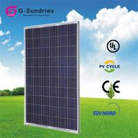 High quality price per watt 80w polycrystalline solar panels