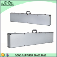 Fashional aluminum rifle leather gun case