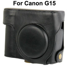 Leather Camera Case Bag for Canon G15