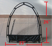 """Golf 26""""x23""""Pop Up Practice Chipping Net with 5 Holes target Overlay"""