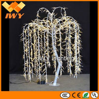 51W Beautiful White LED Lighted Willow Tree With CE RoHS SAA