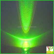 3V Pure Green led(longlife DIP LED) long life super bright for traffic lights