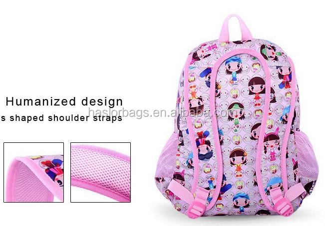 Nouveau Design votre propre école sac à dos pour fille