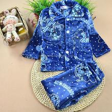 children 100% PFY coral fleece pajamas