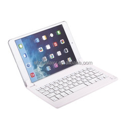 Ultrathin Magnetic Suction Bluetooth Keyboard for iPad mini 3 / 2 / 1(White)