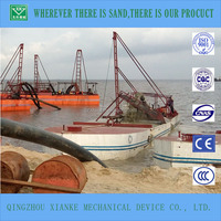 60cbm mini auto self propelled sand pumping barge/boat for sale