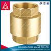 "TMOK Non Return Vertical Brass Spring Check Valve Size 1/2"" with plastic stem"