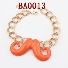moda metallo baffi baffi 2013 braccialetto