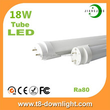 Good quality SMD2835 pure white 4000K 18W dimmable t8 4ft led tube lamps
