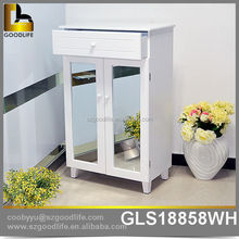 Japaness stylish hallway mirror big shoe cabinet high quality