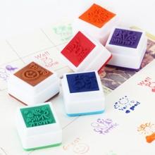School Teachers English Toy Stamp Self Inking Praise Reward Motivation Sticker Stamper