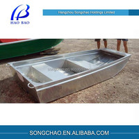 V Bottom Aluminum Flat Boats for Fishing