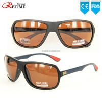 2015 New Fashion Italy Design Custom TR90 UV400 Polarized Sport Sunglasses For Men (ST-649)