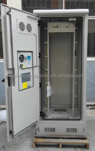 DDTE084 Outdoor Telecom Rack With Air Conditioner And Power Distribution Unit For Wireless Communication Base Station