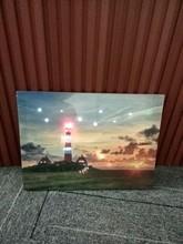 fiber optic light canvas art