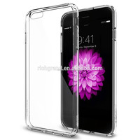 New ultra hybrid crystal clear back panel bumper case for iphone 6 plus