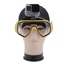 Diving Mask Swimming Goggles for Gopro Hero 1 2 3 3+ 4 Camera Mount Set