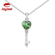 New band lucky Key pendant necklace crystal necklace